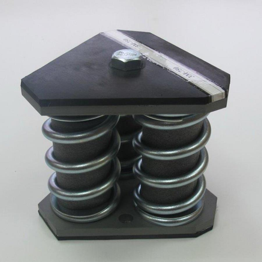 Multiple Springs Metallic Dampers Catalog Ega 241 A