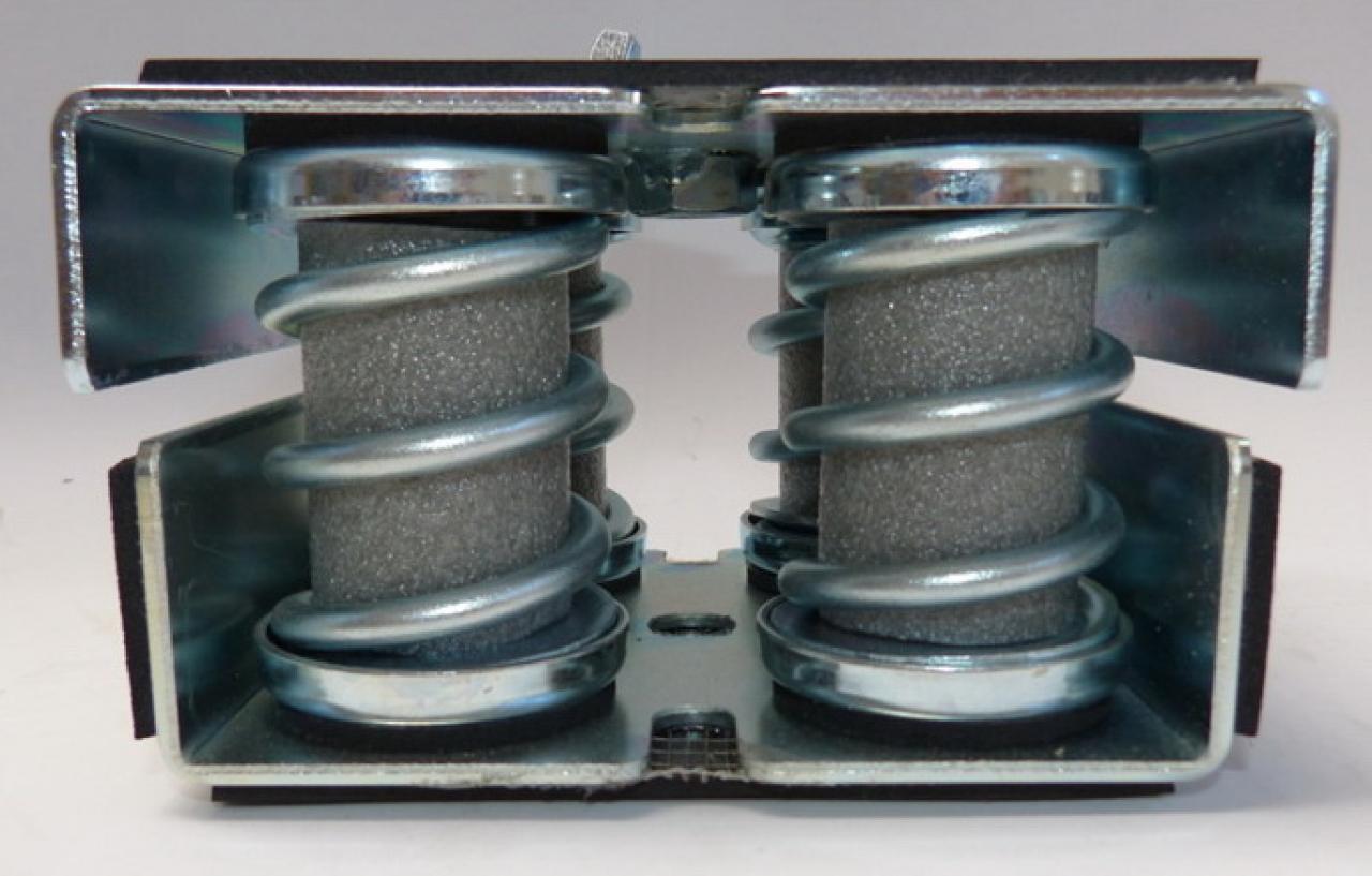Muelles Micro Metallic Dampers Catalog Ega 241 A