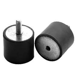 Cylindrical Dampers Silentblock Antivibration Dampers